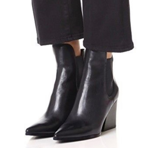 Kendall Kylie Finley Chelsea Boots Size